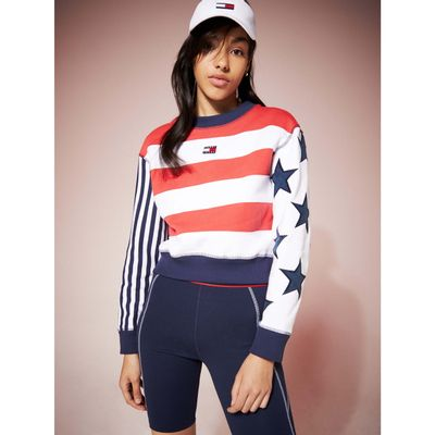SUDADERA-TOMMY-JEANS-SUMMER-HERITAGE-CROPPED