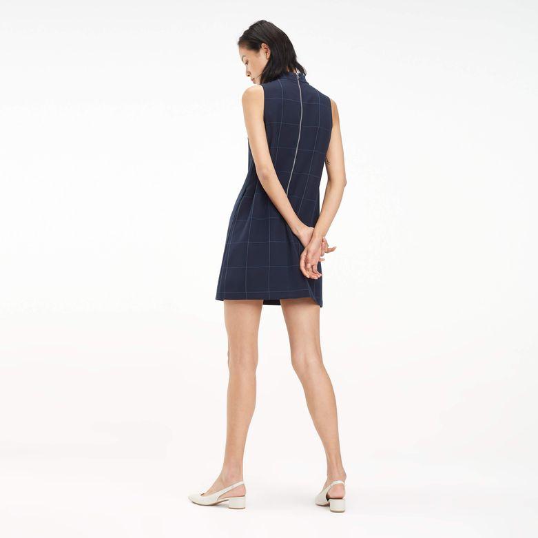 6cb2d1bb466e Vestido Corto De Cuadros   Tommy Hilfiger - Tienda en Línea
