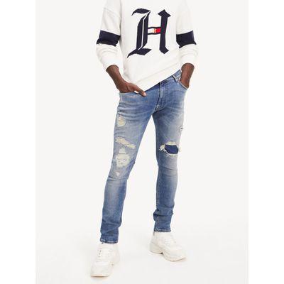 Jeans-desgastados-Lewis-Hamilton---Tommy-Hilfiger