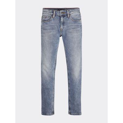 Jeans-De-Corte-Slim-Con-Pernera-Conica-Tommy-Hilfiger