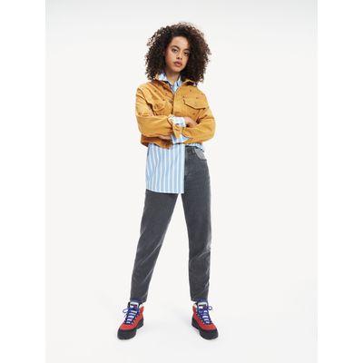 Jeans-Mom-Tj-2004-Con-Efecto-Lavado-A-Contraste-Tommy-Hilfiger