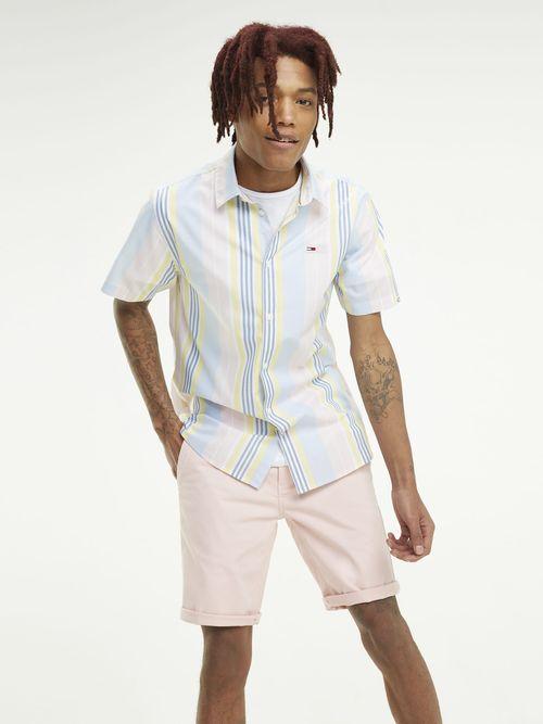 Camisa-de-Rayas-y-manga-Corta