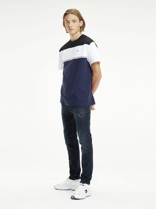 Jeans-desgastados-de-Corte-Skinny
