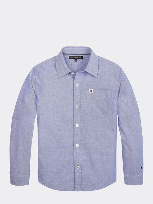 Camisa-Oxford-de-Algodon-Organico