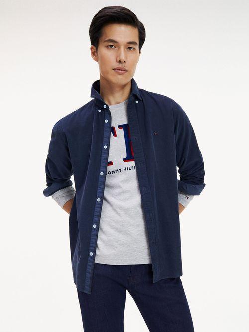 Camisa-de-Pana-con-Corte-Regular