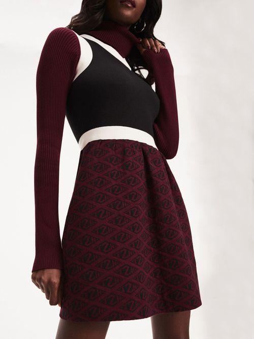 Vestido-Zendaya-de-Punto-con-Estampado-de-Monograma
