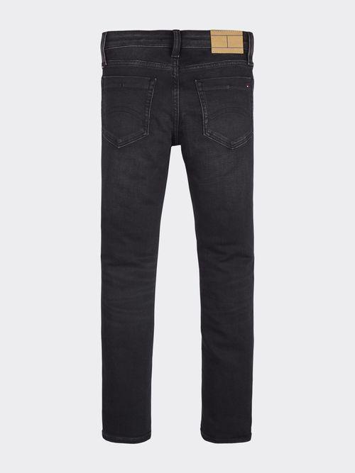 Jeans-de-Corte-Slim-con-Lavado-Oscuro