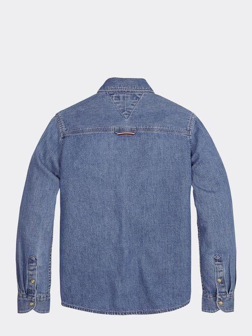 Camisa-de-Tejido-denim-Rigido