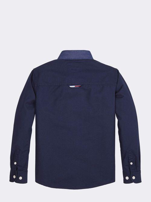 Camisa-Vaquera-con-Bolsillo-A-contraste