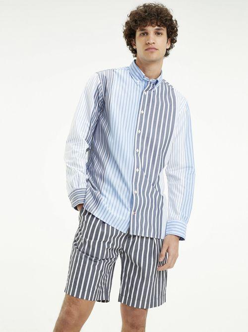Camisa-de-Rayas-Mixtas-y-Corte-Amplio-Tommy-Hilfiger