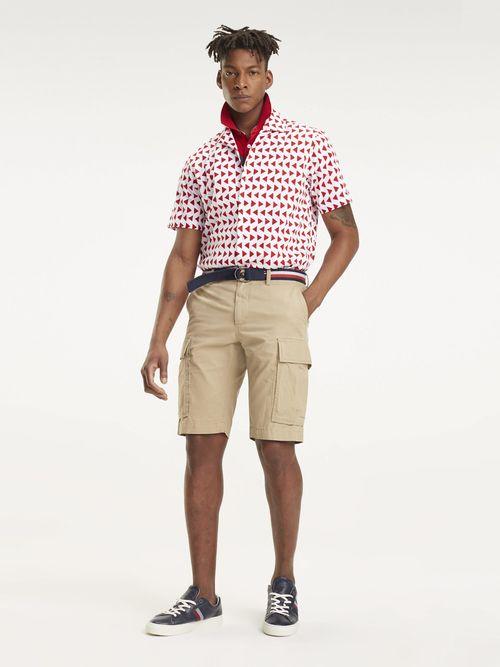 Camisa-de-manga-Corta-con-Estampado-Geometrico-Tommy-Hilfiger