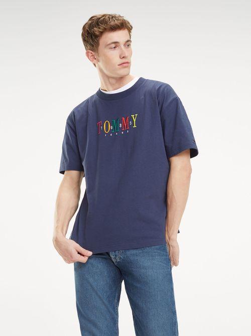 Playera-con-Logo-Multicolor---tienda-en-linea-Tommy-Hilfiger-Mexico