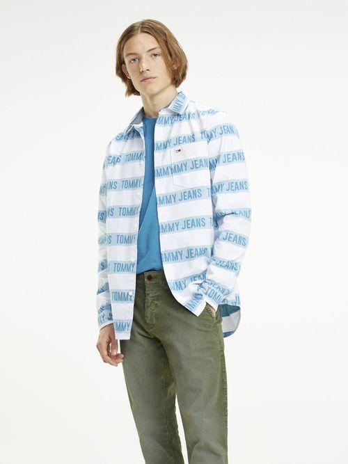 Camisa-de-Algodon-con-Logo---tienda-en-linea-Tommy-Hilfiger-Mexico