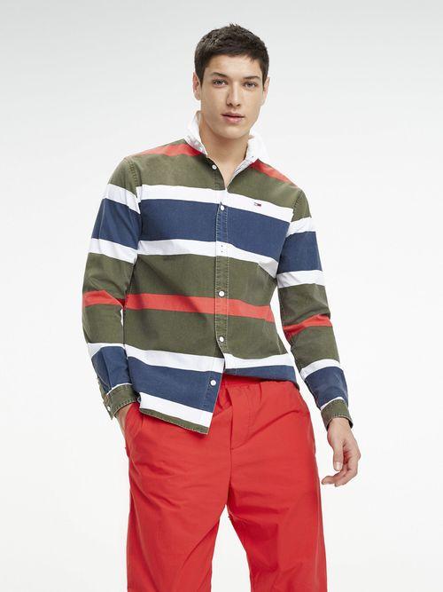 Camisa-de-Rayas-en-Algodon---tienda-en-linea-Tommy-Hilfiger-Mexico