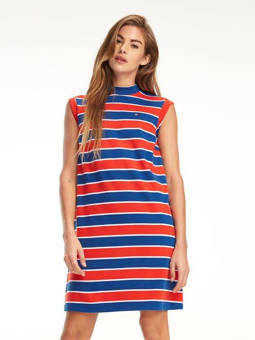 Vestido-de-Rayas-de-Corte-Evase---tienda-en-linea-Tommy-Hilfiger-Mexico