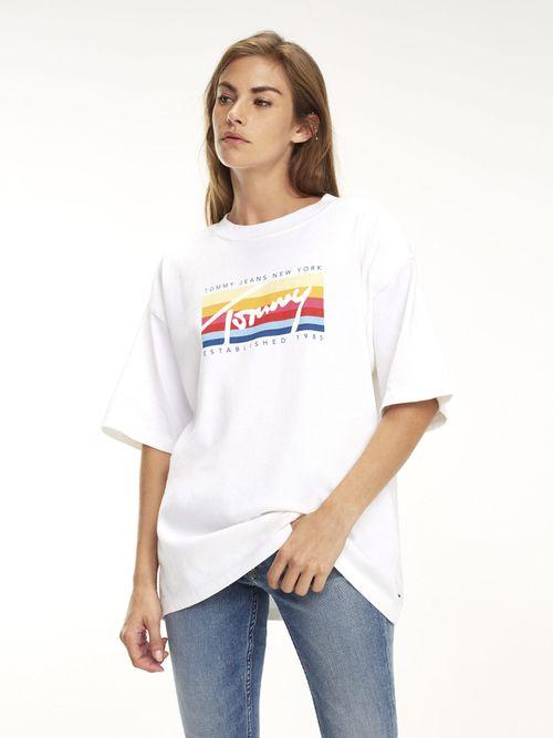 Playera-Oversize-con-Logo-Multicolor---tienda-en-linea-Tommy-Hilfiger-Mexico