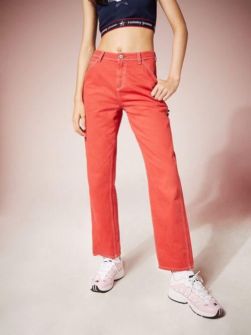 Pantalones-Tommy-Jeans-Summer-Heritage-con-Bolsillos---tienda-en-linea-Tommy-Hilfiger-Mexico