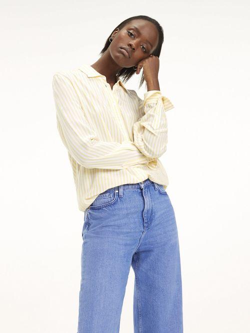 Camisa-de-Viscosa-Estampada---tienda-en-linea-Tommy-Hilfiger-Mexico