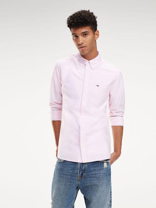Camisa-Oxford-de-Algodon-Organico---tienda-en-linea-Tommy-Hilfiger-Mexico