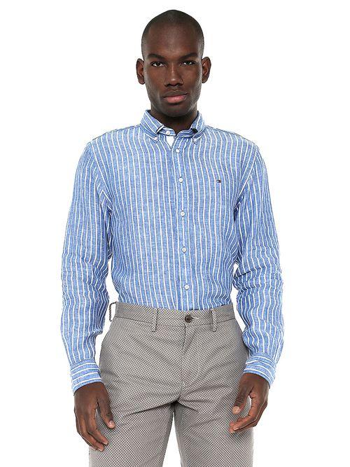 Camisa-A-Rayas---tienda-en-linea-Tommy-Hilfiger-Mexico