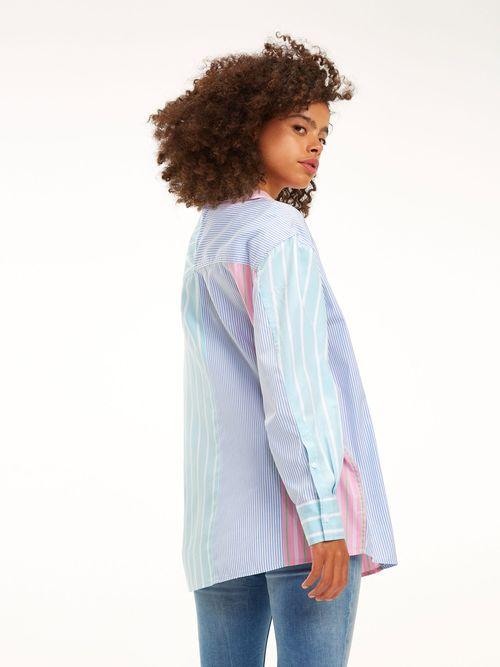 Camisa-con-Estampado-de-Rayas-Multicolor---tienda-en-linea-Tommy-Hilfiger-Mexico