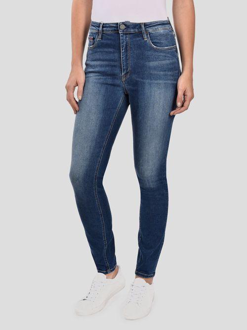 Jeans-Skinny-de-Tiro-Alto-Tommy-Hilfiger