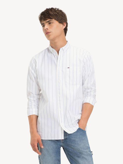 Camisa-de-Algodon-A-Rayas-Tommy-Hilfiger