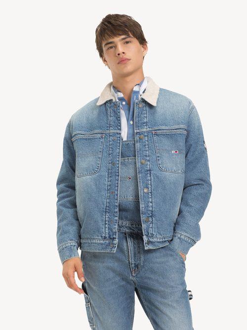 Chamarra-Tommy-Jeans-Oversize-con-Cuello-de-Borrega-Tommy-Hilfiger
