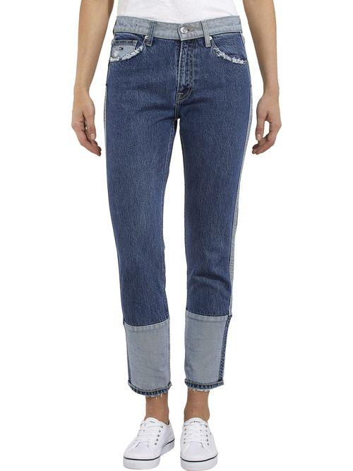 Jeans-de-Cintura-Alta-Slim-Fit-Tommy-Hilfiger