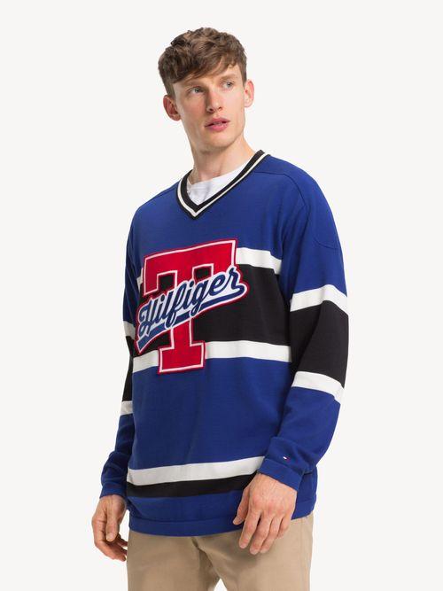 Sueter-de-Estilo-Hockey-con-Cuello-V-Tommy-Hilfiger