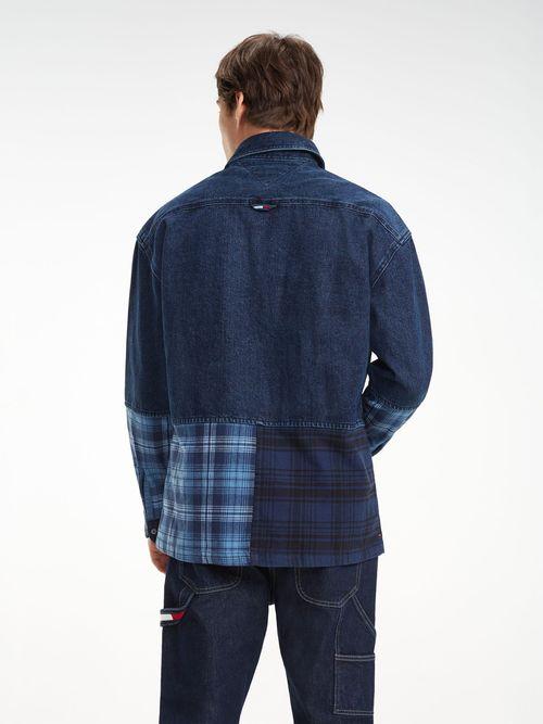 Camisa-de-Franela-y-denim-Tommy-Hilfiger