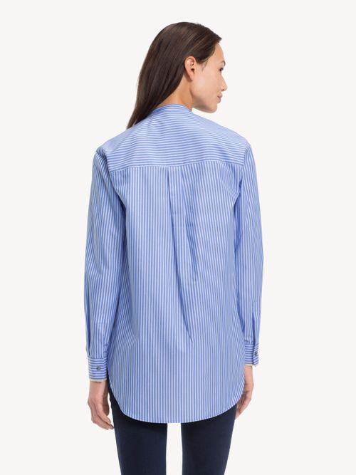 Camisa-de-Algodon-de-Corte-Girlfriend-Tommy-Hilfiger