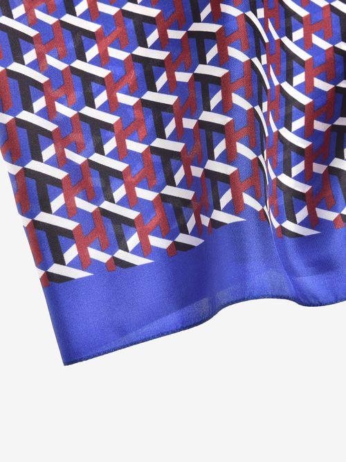 TH-Cube-Silk-Bandana-Tommy-Hilfiger