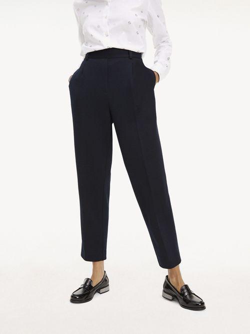 Pantalon-Essential-En-Punto-De-Mezcla-De-Viscosa-Tommy-Hilfiger