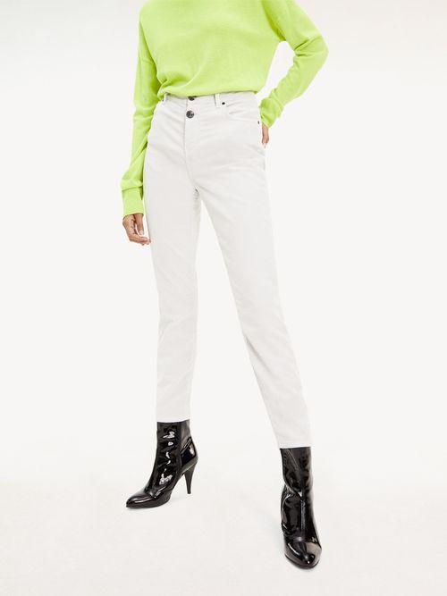 Resultado De Busqueda Mujer En Ropa Pantalones Blanco Tommy Hilfiger Tienda En Linea