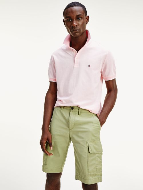 Polo-ribeteado-de-algodon-Oxford-Tommy-Hilfiger