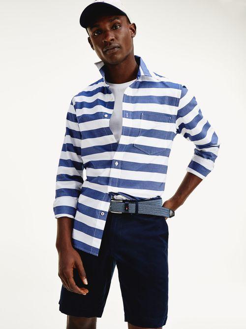 Camisa-con-estampado-de-rayas-anchas-Tommy-Hilfiger