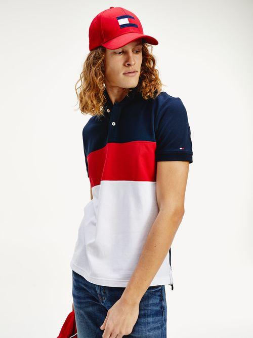 Polo-color-block-de-corte-regular-Tommy-Hilfiger