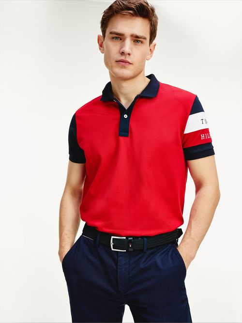 Polo-Regular-Colorblock-Tommy-Hilfiger