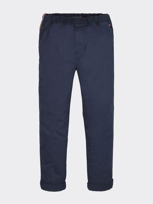 Pantalon-chino-sin-cierre-con-cinta-multicolor-Tommy-Hilfiger