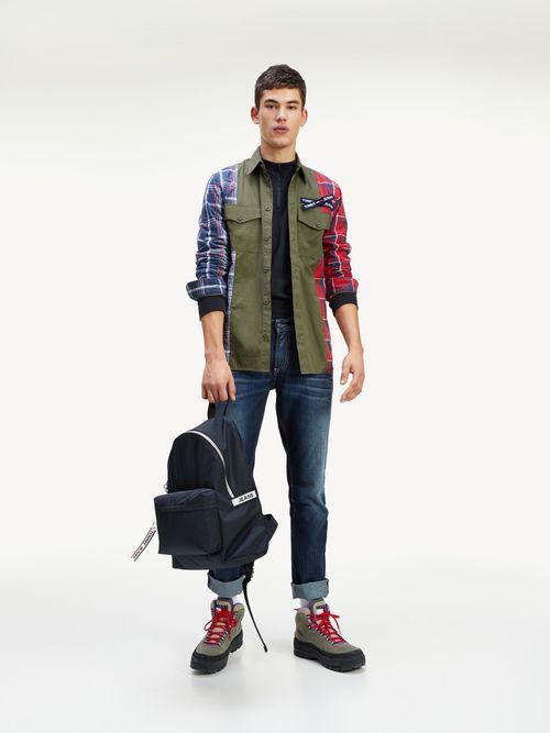 Camisa-de-corte-ancho-con-paneles-a-contraste-Tommy-Hilfiger