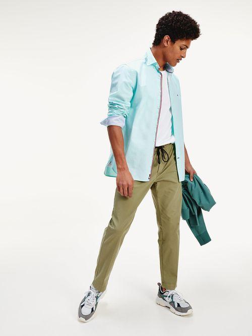 Camisa-de-algodon-organico-con-acabados-a-contraste-Tommy-Hilfiger