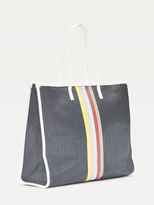 Bolsa -de-playa-con-diseño-de-rayas-Tommy-Hilfiger