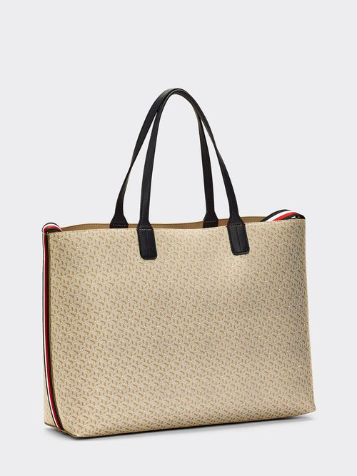 Bolsa -tote-Tommy-Icons-con-monograma-Tommy-Hilfiger