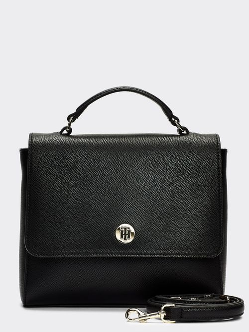 Bolsa -satchel-con-monograma-Tommy-Hilfiger