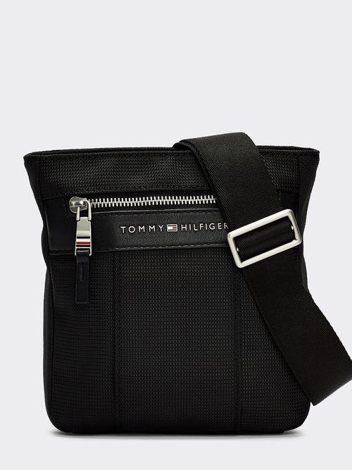 Bolsa -bandolera-Elevated-pequeño-con-logo-Tommy-Hilfiger