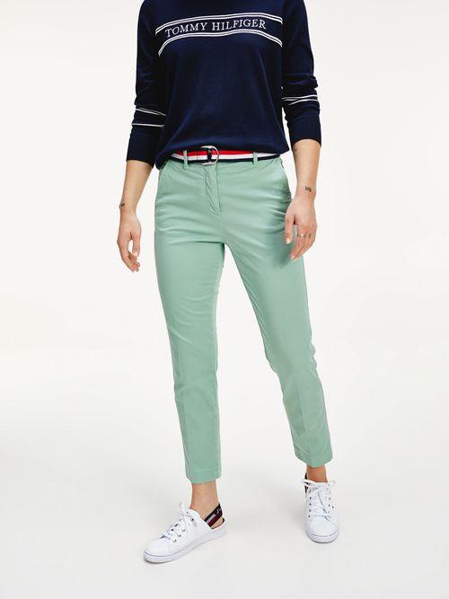 Pantalon-de-tencel-y-algodon-teñido-en-prenda-Tommy-Hilfiger