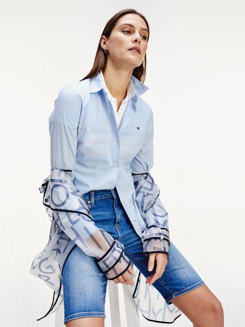 Camisa-en-algodon-de-corte-regular-Tommy-Hilfiger
