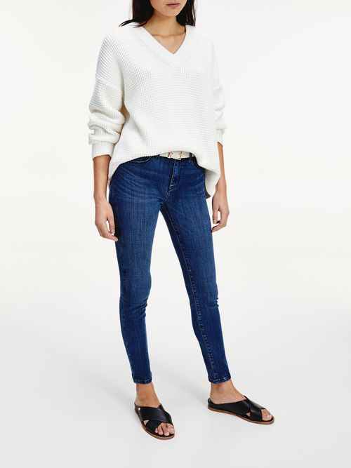 Jeans-Como-ceñidos-de-talle-medio-Tommy-Hilfiger