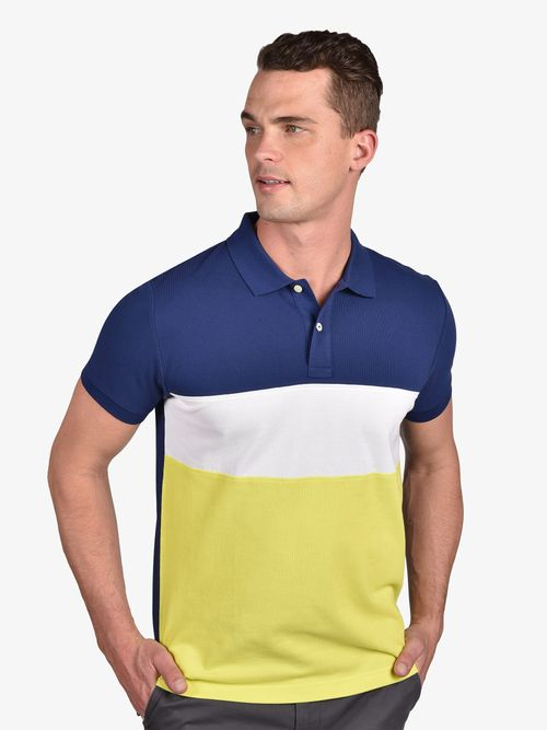 Polo-color-block-de-corte-regular-Tommy-Hilfiger